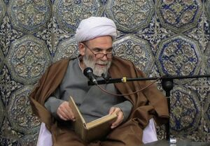 فیلم/ مدح امیرالمومنین(ع) توسط حاج آقا مجتبی تهرانی(ره)