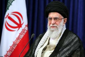 عکس/ سخنرانی رهبر انقلاب به مناسبت رحلت امام