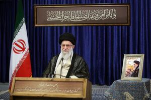 صوت کامل سخنرانی تلویزیونی رهبر انقلاب به مناسبت رحلت امام(ره)