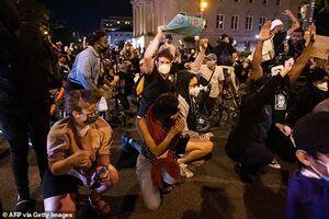 فیلم/ حمایت هوشمندانه از معترضان آمریکایی