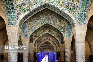 عکس/ مراسم بزرگداشت ارتحال امام (ره) در مسجد وکیل شیراز