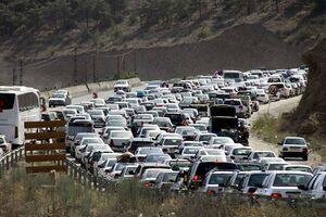 ترافیک فوق سنگین در محور هراز و فیروزکوه