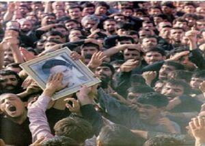 سنگینی ناتمام غم رحلت امام برای ملت ایران +عکس