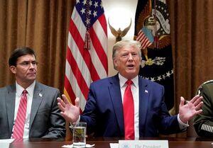 CNN: مخالفت با ترامپ جایگاه وزیر دفاع آمریکا را متزلزل کرد