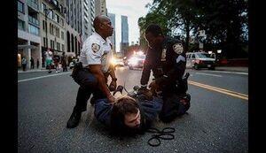 عکس/ موج جدید بازداشت معترضان در نیویورک