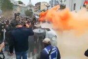 فیلم/ خشم مردم از اقدام بی شرمانه پلیس اوکراین