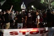 عکس/ کاخ سفید در محاصره معترضان