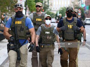 عکس/ پای FBI به اعتراضات مردم باز شد