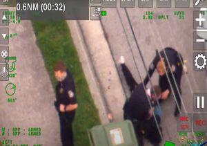 ضرب و شتم سیاه پوستی به دست پلیس در فلوریدا