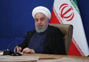فیلم/ روحانی: سال ۹۷ زانوی آمریکا را شکستیم