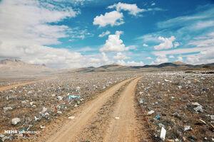 عکس/ محل دفن و دپو زباله در همدان را ببینید