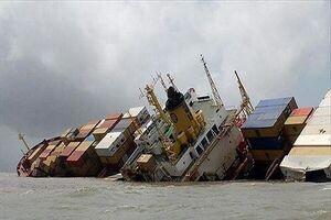 کشتی ایران در آبهای عراق غرق شد/عراق مجوز اعزام شناور امدادی را صادر کرد/کل بار سرامیک زیر آب رفت
