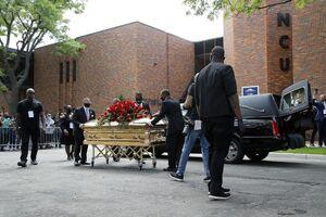 اولین تصاویر از مراسم یادبود جورج فلوید