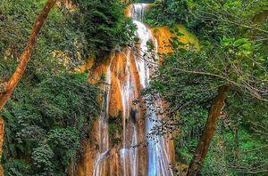 عکس/ آبشاری زیبا در دل طبیعت گلستان