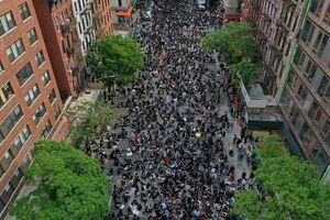 عکس/ اقدام هماهنگ معترضان در نیویورک