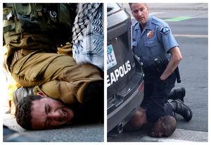پلیس آمریکا و رژیم صهیونیستی