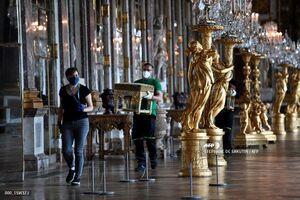 کاخ ورسای فرانسه در آستانه بازگشایی بعد از برداشتن محدودیت های کرونایی