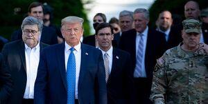 انتقاد شدید مقامات آمریکایی از تصمیم ترامپ برای استفاده از ارتش در مقابل معترضان
