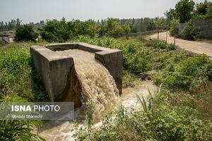 عکس/ وضعیت قرمز رودخانه تالار قائمشهر