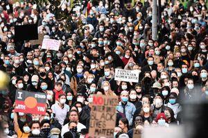 عکس/ دومینوی اعتراضات ضد نژادپرستی به استرالیا رسید