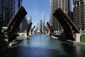 عکس/ تدابیر امنیتی در شیکاگو