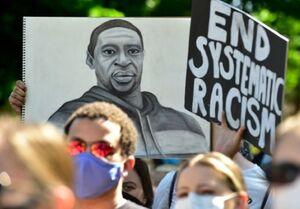 فیلم/ بزرگترین تظاهرات ضدنژادپرستی در انگلیس