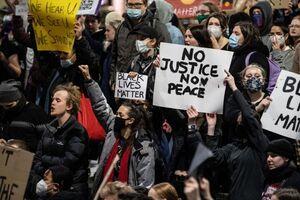 این تصویر منتهای خشونت آمریکاییست! +عکس