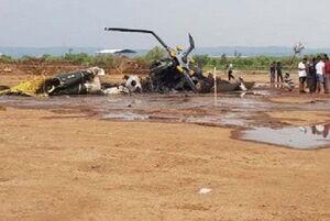 سقوط بالگرد «ام آی-۱۷» ارتش اندونزی ۴ کشته برجای گذاشت