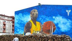 عکس/ بزرگترین نقاشی دیواری کوبی براینت
