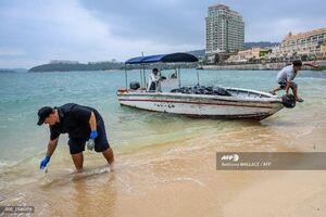 تصاویر تاسف آور در سواحل هنگ کنگ