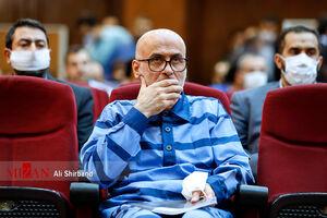 عکس/ اولین جلسه دادگاه اکبر طبری
