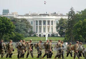 عکس/ در کاخ سفید چه میگذرد