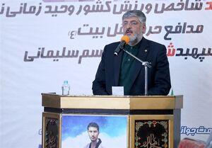 پولادگر: شهید زمانینیا و شهدای انقلاب اسلامی اسطورههای بزرگ تاریخ معاصر هستند