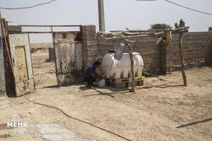 آب به روستاهای غیزانیه رسید