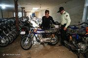 موتورسیکلت سرقتی ۲۰۰ هزار تومان!
