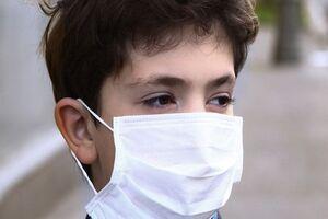 التزام استفاده از ماسک در برنامه زنده تلویزیونی +عکس
