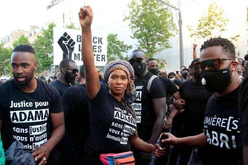 جرج فلوید فرانسویها کیست؟ / نژادپرستی سیستماتیک در مهد آزادی!