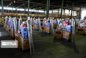 عکس/ اهدا ۴۲ سری جهیزیه به نوعروسان قوچانی