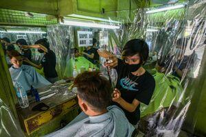 عکس/ بازگشایی آرایشگاهها در فیلیپین