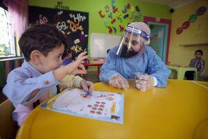 آغاز دوباره فعالیت مهدهای کودک در شهر «امان» پایتخت اردن