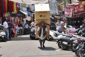 عکس/ باربر پر توان هندی