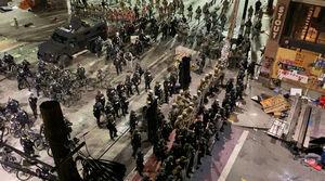 فیلم/ خیابانهایی که حالا میدان جنگ است!