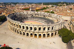 عکس/ بنای تاریخی روم باستان