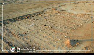 عکس/ مقبره فوت شدگان عراقی به دلیل بیماری کرونا در شهر نجف