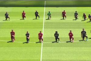 علت زانو زدن فوتبالیستها چیست؟