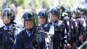 پلیس قزاقستان