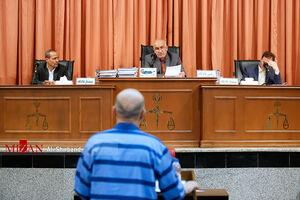 عکس/ دومین جلسه رسیدگی به اتهامات اکبر طبری