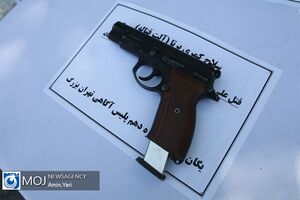 عکس/ سلاح کمری سارقان پایتخت
