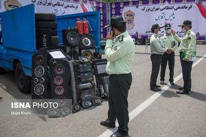 عکس/ دستگیری سارق ضبط و باند خودرو