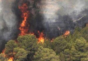 پیشبینی ماهوارهای از ریسک آتشسوزی زاگرس +نقشه